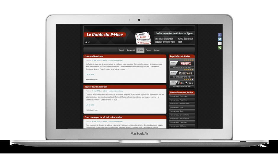 Site leguidedupoker.net